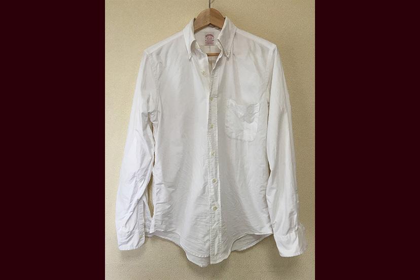 ブルックス ブラザーズのBDシャツと「とよかつ」のまくら