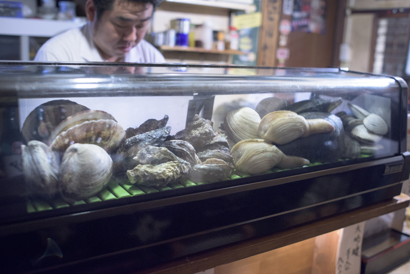 高円寺の夜は、貝の甘みに酔いしれて…
