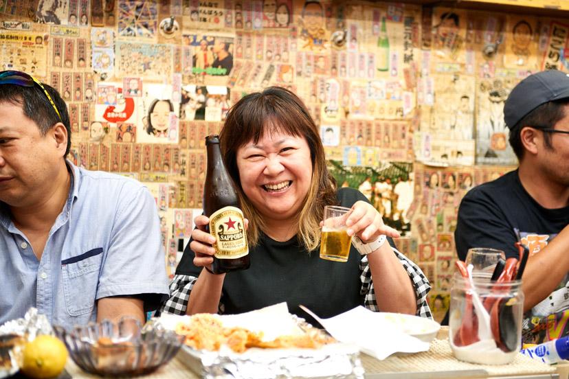大阪の立ち飲みグルーヴで気絶やねん